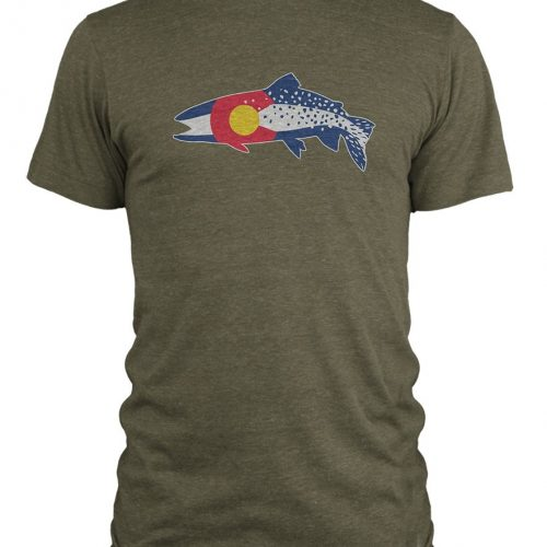 Rep Your Water CO Trout Shirt