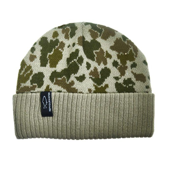 Camo Knit Hat
